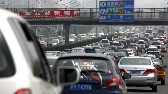 china, beijing, traffic, cars, urban planning, calgary, sustainable design, mass transit, traffic jam